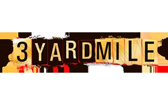 3 Yard Mile Logo Design