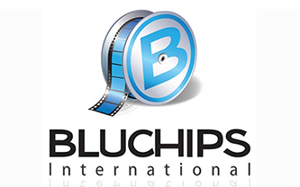 Bluchips International Logo Design