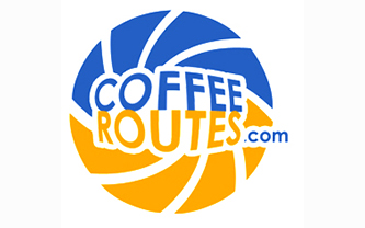Coffee Routes Logo Design