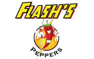 Flash's Peppers Logo Design