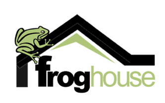 Frog House Logo Design