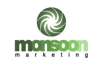 Monsoon Marketing Logo Design