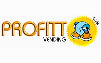 Profitt Vending Logo Design