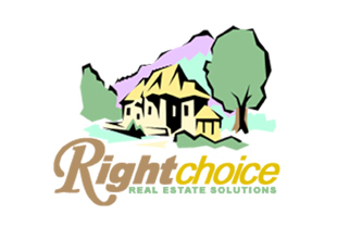 Right Choice Real Estate Solutions Logo Design