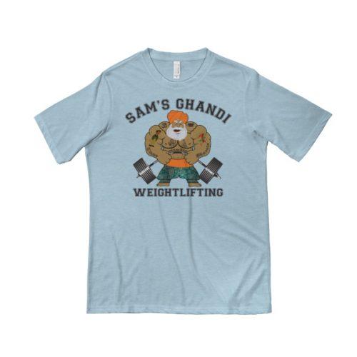Sam's Ghandi Weightlifting