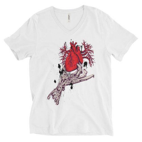Skeleton Hand Holding Heart