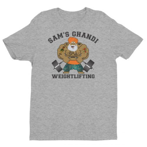 Sam's Ghandi Weightlifting